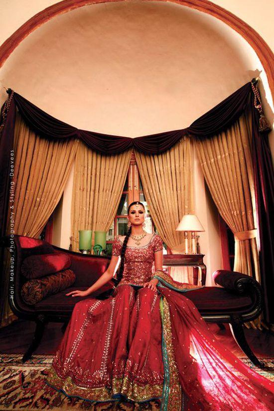 Zara Shahjahan pakistani bridal clothes #wedding, #shaadibazaar