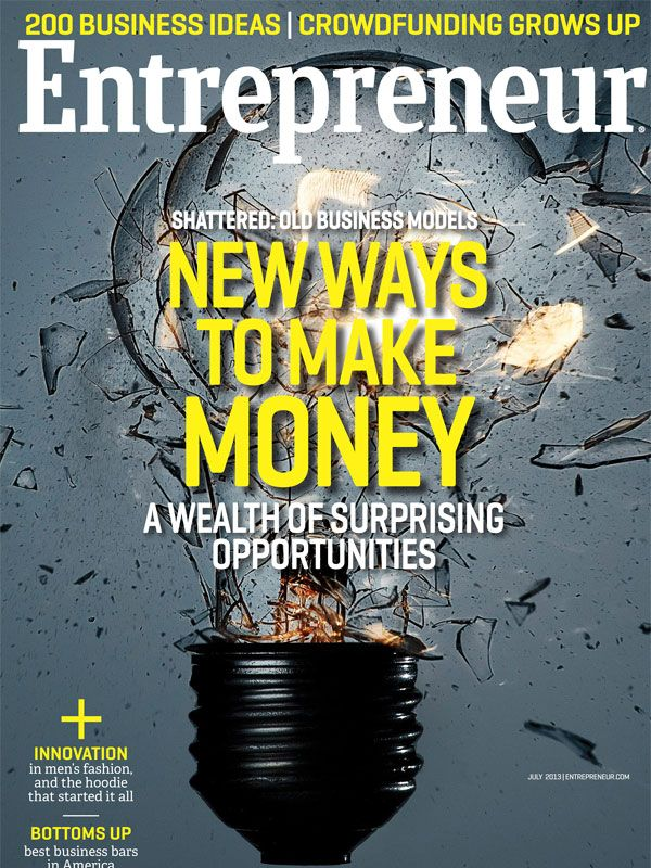 Business Magazine from Entrepreneur - July 2013