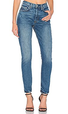 Shop for GRLFRND Karolina High-Rise Skinny Jean in Close to You at REVOLVE. Free 2-3 day shipping and returns, 30 day price match guarantee.