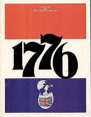 1776 - Movie Program Cover