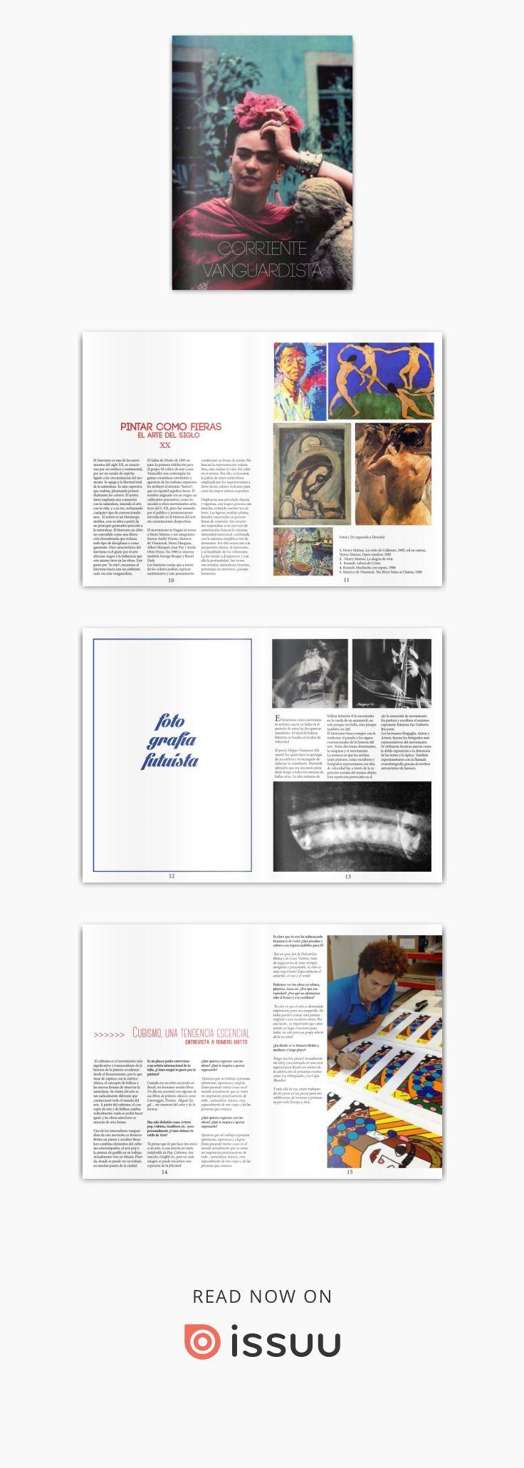 Corriente Vanguardista  Revista del Arte Vanguardista