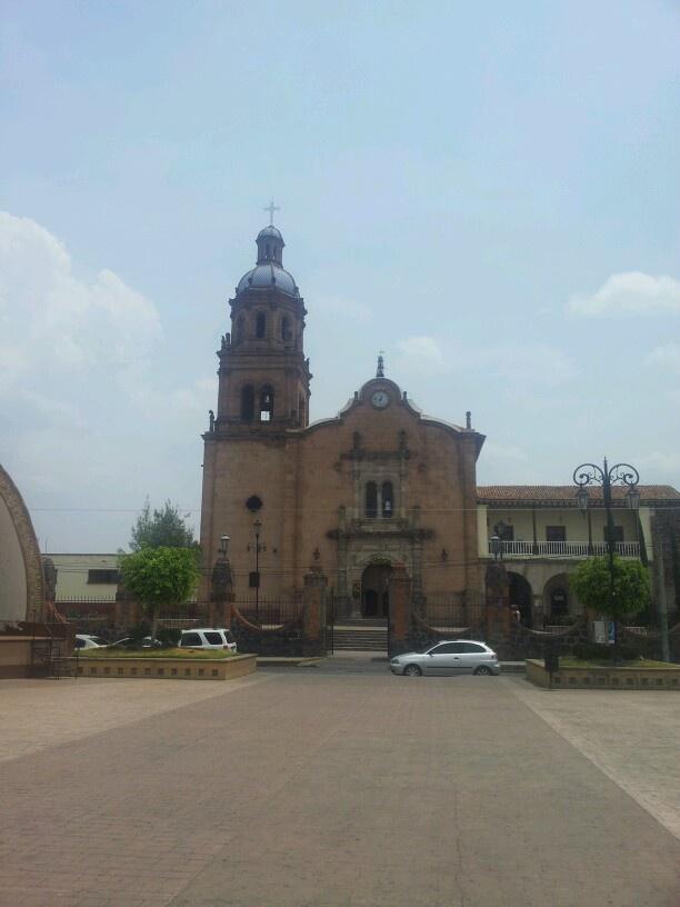 Michoacan Zacapu Iglesia Santa Ana
