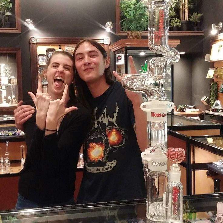 Our Friendly Stranger Derek is already reaping the benefits of our epic build-a-bong sale - This bong was $450 he paid $280!! He named this totally metal bong after the awesome staff member who helped him Carleigh - Go team! #epic #sale #bong #buildabong #hossglass #cheechglass #cannabis #cannabisculture #cannabiscultureshop #marijuana #qwcc #queenstreet #friendlystranger #thefriendlystranger