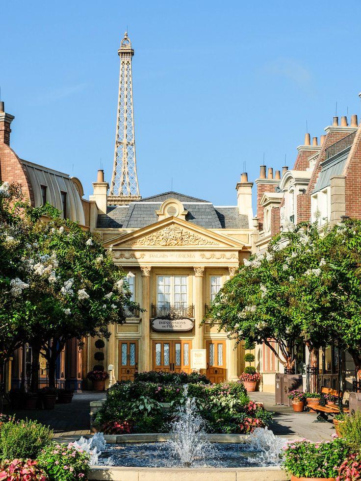 Epcot's France Pavilion - Bright Lights Paris Inspiration  LaVieAnnRose.com  http://www.lavieannrose.com/bright-lights-paris