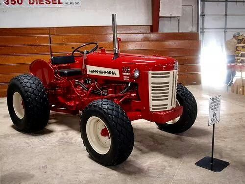 Ih 340 Utility Tractor Parts : Ih utility diesel tractors pinterest