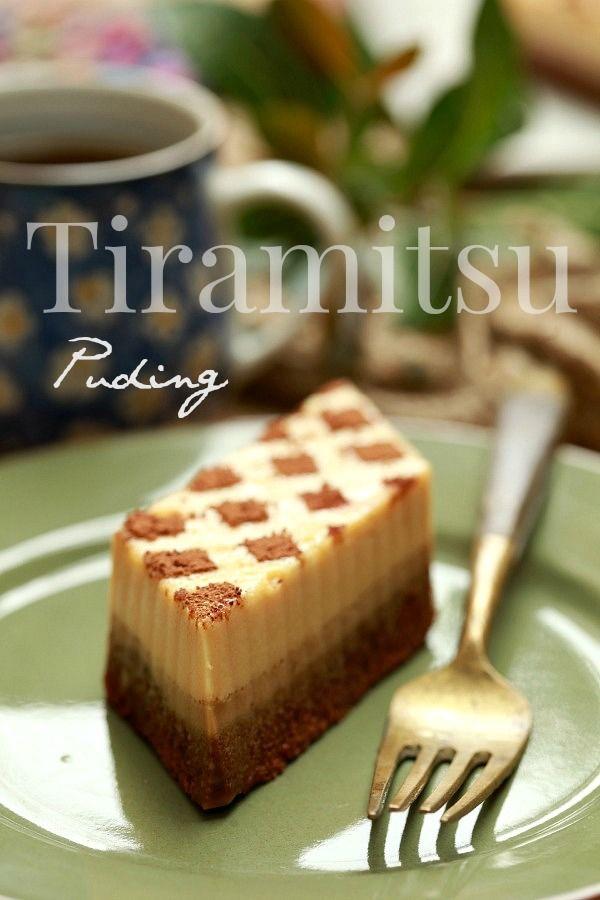 masam manis: Puding Tiramisu yang marvelous..!