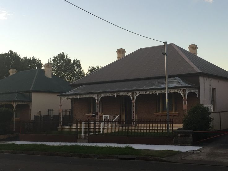 Bungalow style Federation. Common still in Parramatta, NSW