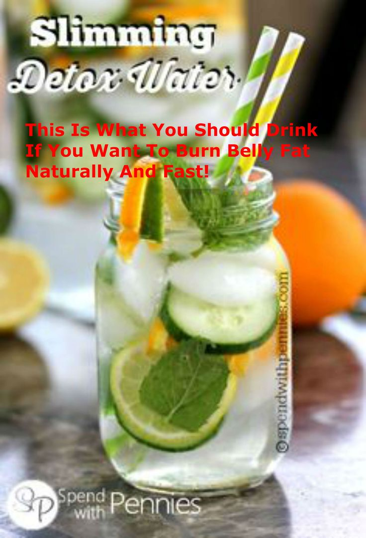 This Is What You Should Drink If You Want To Burn Belly Fat Naturally And Fast!