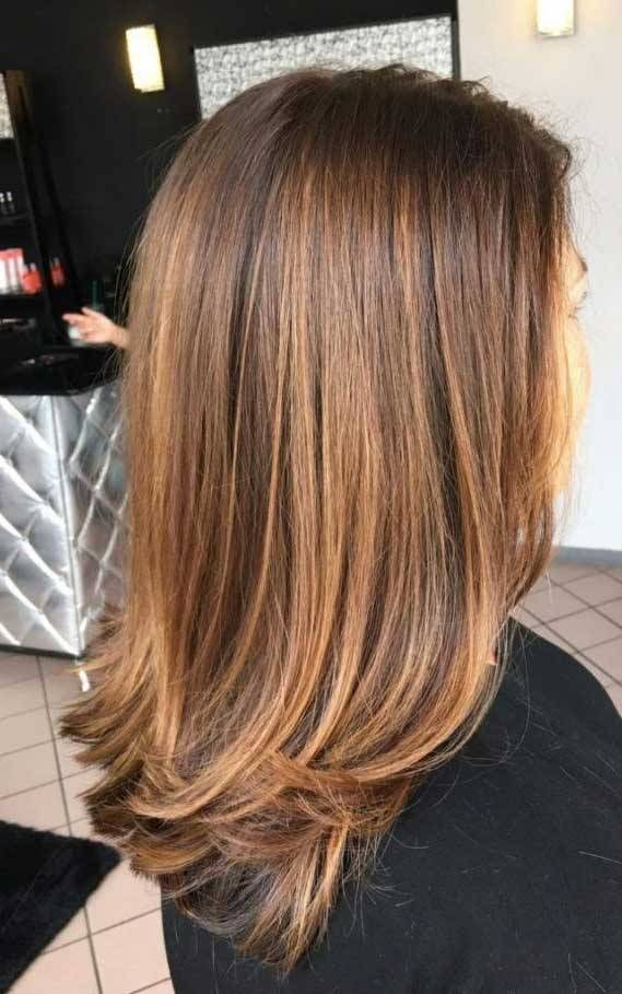 Gorgeous Layered Haircuts And Hairstyles In 2020 Golden Brown Hair Color Hair Color Light Brown Brown Hair Colors