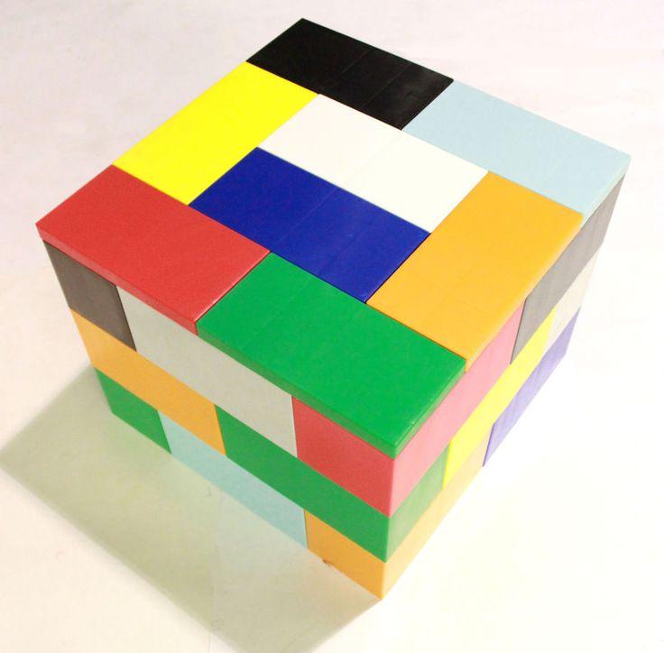 bricks furniture. giant legolike bricks let you build your own furniture