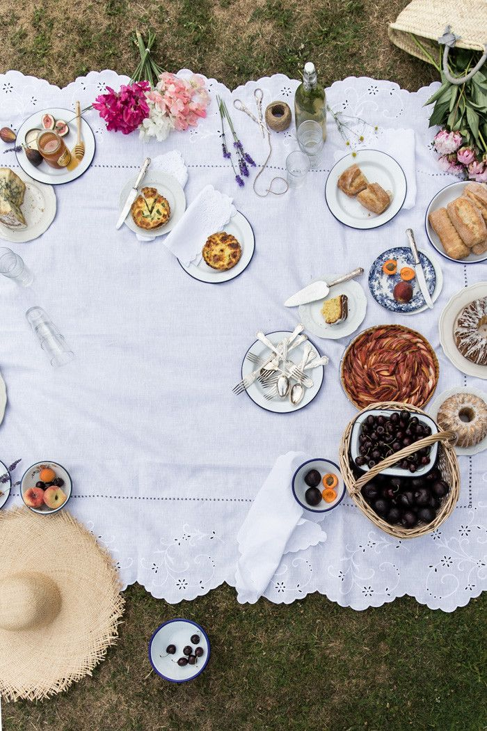From My Dining Table by Skye McAlpine | Summer Picnic, Summer Memories </br><h5> (Tarts, Cake, Sandwiches and Lemonade)</h5> | http://www.frommydiningtable.com
