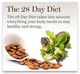 The 28 Day Diet, www.perriconemd.com another fabulous diet from Dr. Perricone!