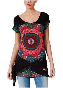 New Desigual Landula Tunic T Shirt Top Knit Blouse 2013 Collection Black s XXL | eBay