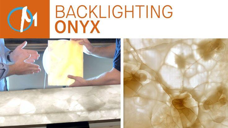 DIY Backlighting Onyx Countertops | Marble.com
