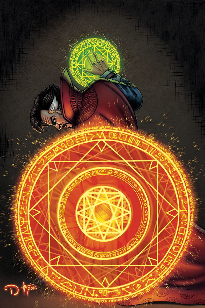 Doctor Strange by David Ocampo