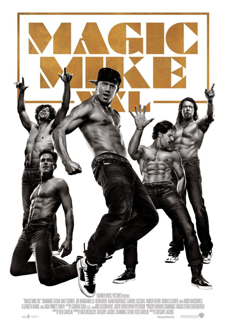 """In Tragic News, the """"Magic Mike XXL"""" Cast's Abs Have Been CENSORED"""