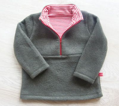 lillesol & pelle Schnittmuster/ pattern: Fleece-Pulli