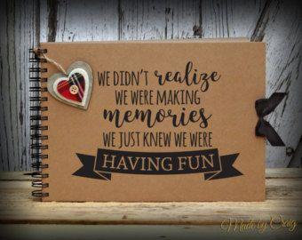 Unsere Abenteuerbuch Gästebuch Fotoalbum Journal von MadeByCraig