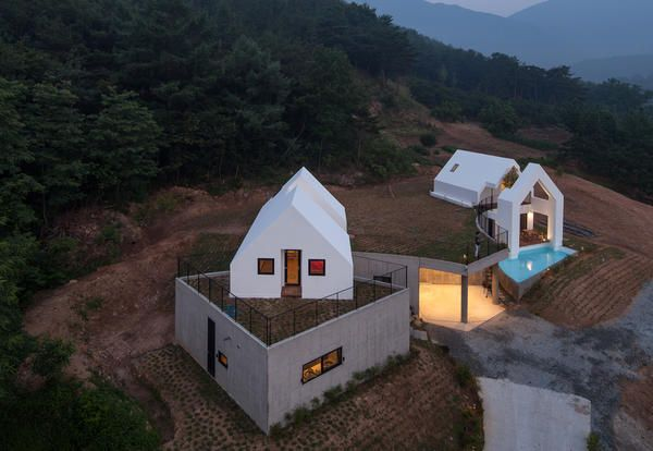 """""""Il cielo in una stanza"""" sembra scritta apposta per la Baomaru House, progettata dallo studio Rieuldorang Atelier"""