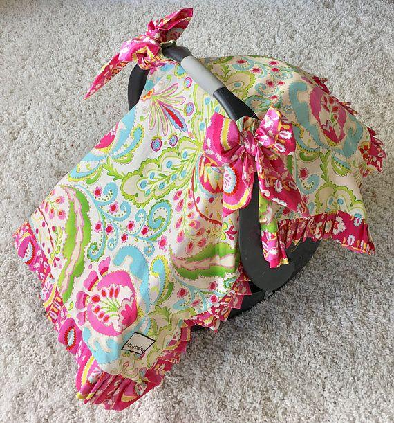 Kumari Garden Canopy Blanket Teja Pink Car Seat Cover Heevan