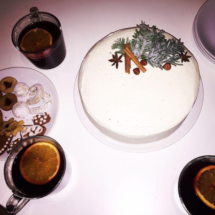 Winter carot cake