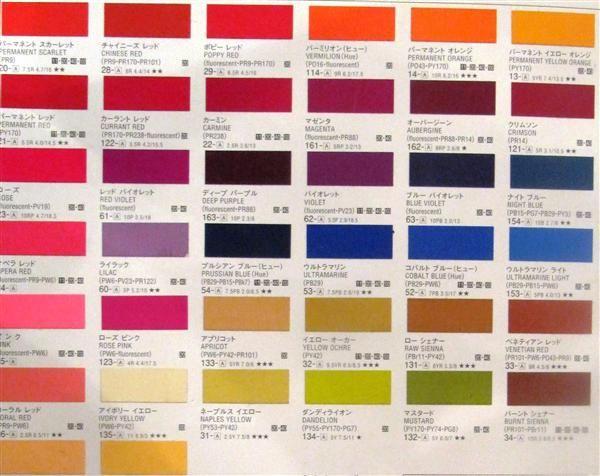 Краска акриловая гуашь, Розовая темнаяя, 20мл., Turner
