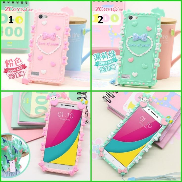 CUTE CARTOON SERIES SOFT CASE FOR OPPO NEO 7