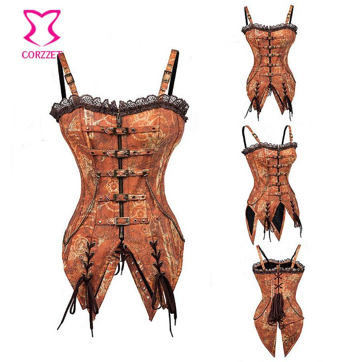 Vintage Swallowtail Corset Steampunk Clothing Korsett For Women Corpetes E Espartilhos Sexy Corsets And Bustiers Gothic Corselet