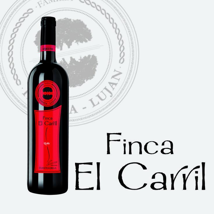 El Finca el Carril Tinto de Bodega Iniesta destaca por la finura y sinceridad del tempranillo con sus notas de frambuesa y regaliz rojo. #wine #vino #tinto #bodega #iniesta #winelabel #etiqueta