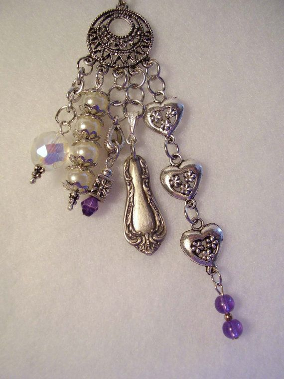 Purse Charm Clip Key Ring Finder Jewelry by cottagegardenquilts, $17.50