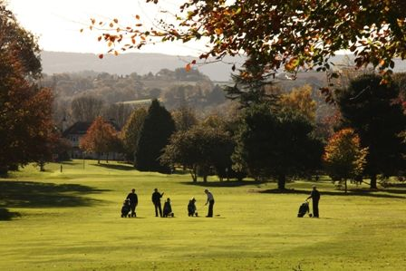 Views across to Haldon Hill from Exeter Golf and Country Club  Join now: 01392 874139 / http://exetergcc.co.uk/golf/exeter-golf-course