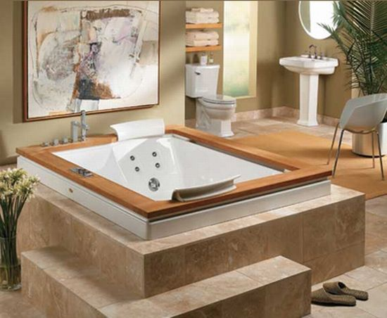 Pictures In Gallery Soaking Away Holiday Stress Jacuzzi BathroomJacuzzi