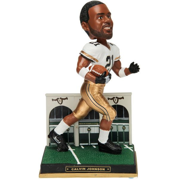 Calvin Johnson Georgia Tech Yellow Jackets 2014 Varsity Collection Bobble Head Figurine - $59.99
