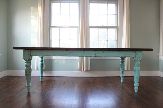 This is what I want to do with the old table in the hayloft