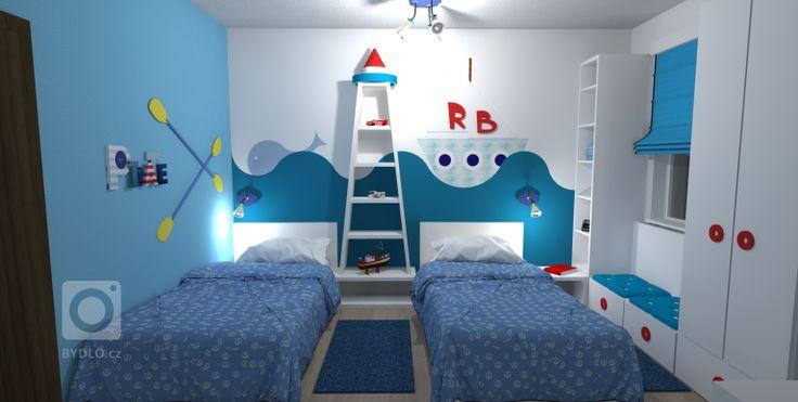 Vizualizace dětského pokoje