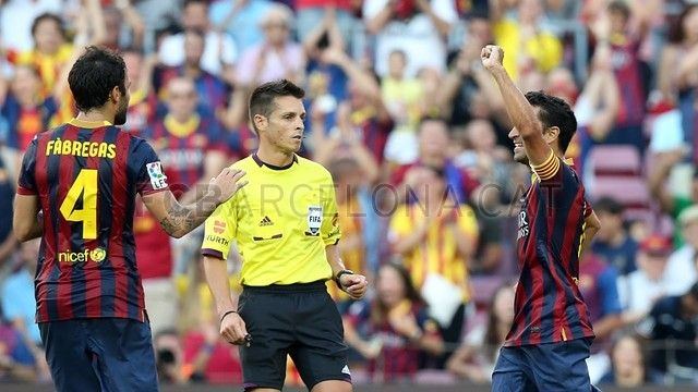 FC Barcelona, Cesc & Xavi | FC Barcelona 7-0 Levante. [18.08.13] FOTO: MIGUEL RUIZ - FCB