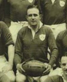 #rugby history Born today 24/03 in 1912 : George Morgan (Ireland) played v Wales in 1934, 1935, 1936, 1937, 1938, 1939     George Joesph Morgan played 19 times for Ireland (1933-1939) scoring 2 tries and was also a British Lion in the South Africa tour in 1938     http://www.walesvirelandrugbytickets.com/