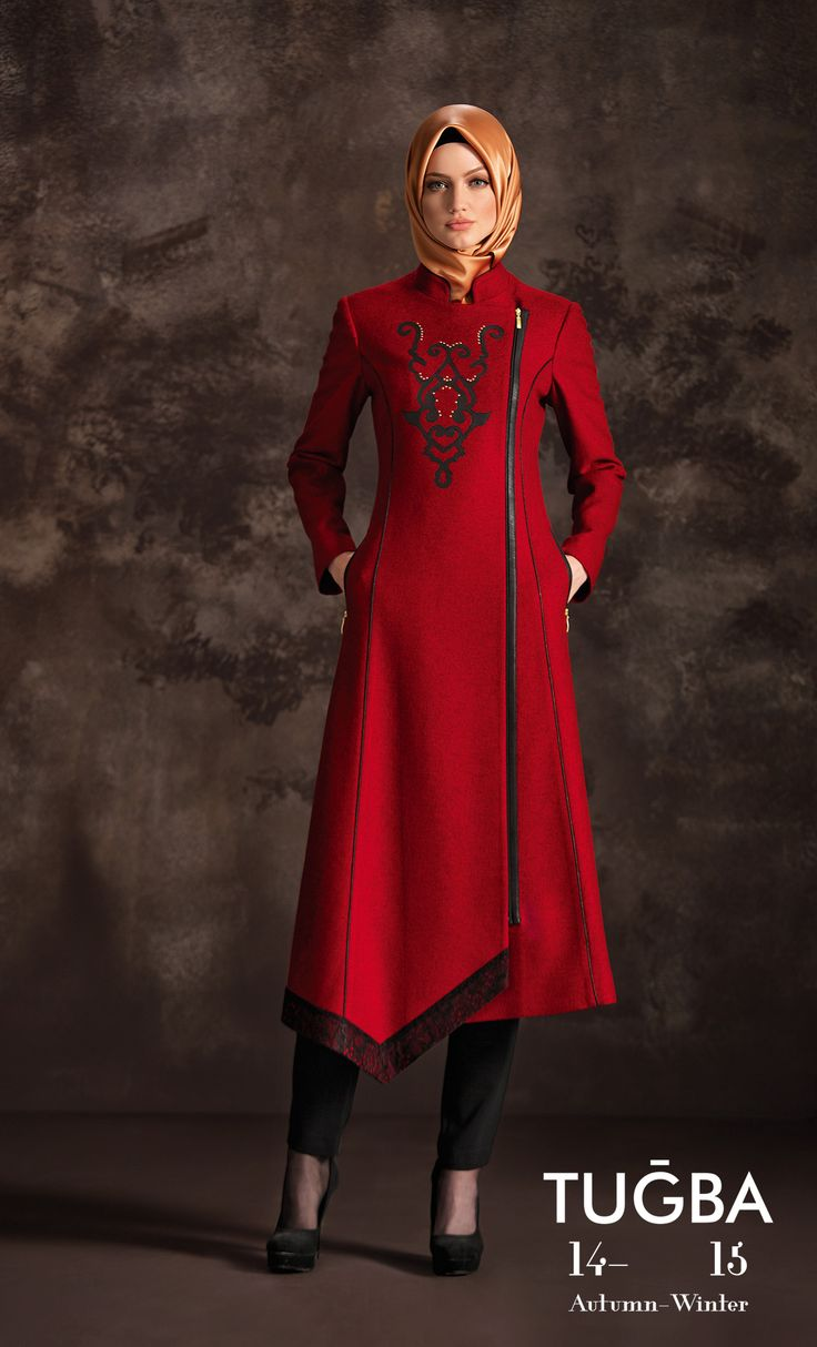 Turkish style, baby :D #ilovered #islamicfashion