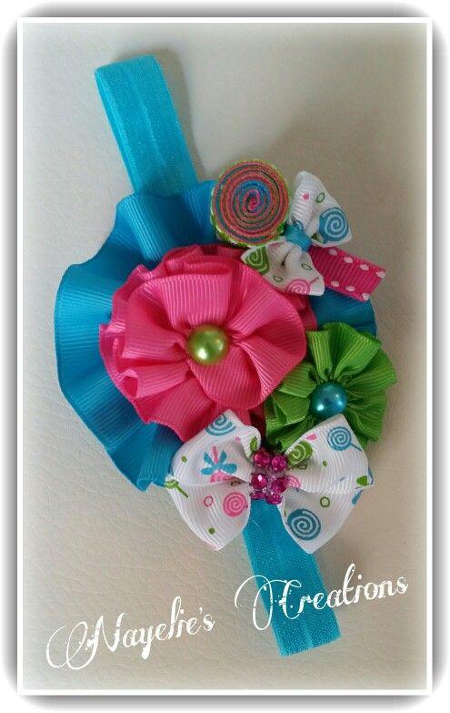 Lollipop headband Más
