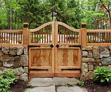 Gate With Copper Ballusters No Cg1a Garden Wooden