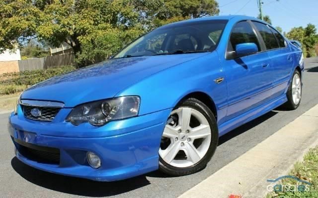2004 Ford Falcon XR6 Turbo Sports Automatic