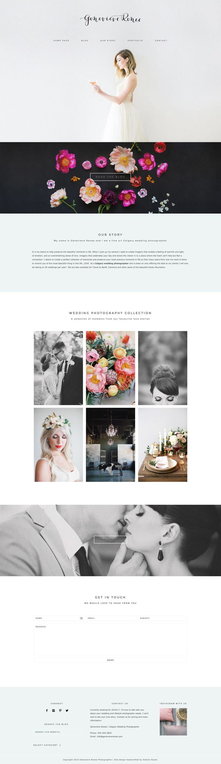 Showcase - Station Seven WordPress Themes + Design Kits