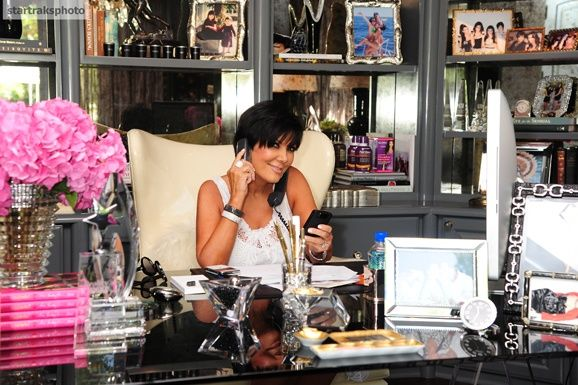kris jenners home | Kris Jenner's home office... Gorgeous Home Decor