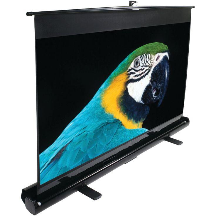"""Elite Screens 16:9 Ezcinema Series Floor-standing Pull-up Projector Screen (84""""; 41.2"""" X 73.2"""")"""