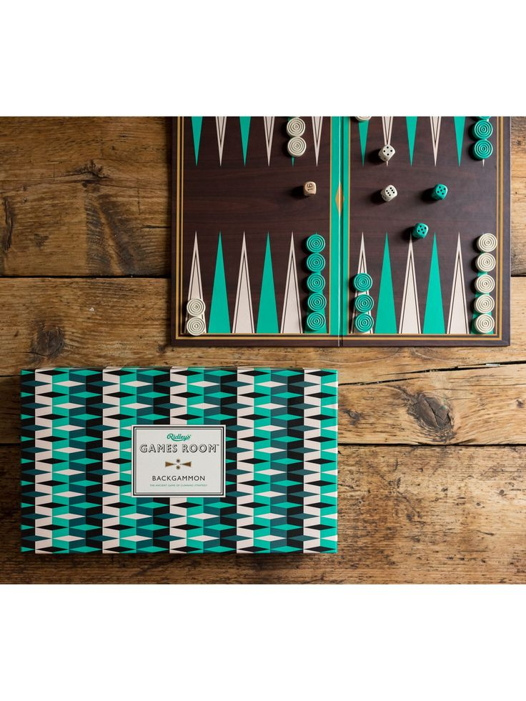 Ridleys Games Room Backgammon in 2020 Backgammon, Game