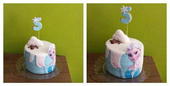 #reposteriacreativa #tartaspersonalizadas #tartasfondant #tartasdecoradas #frozen #cumpleaños #happybirthday