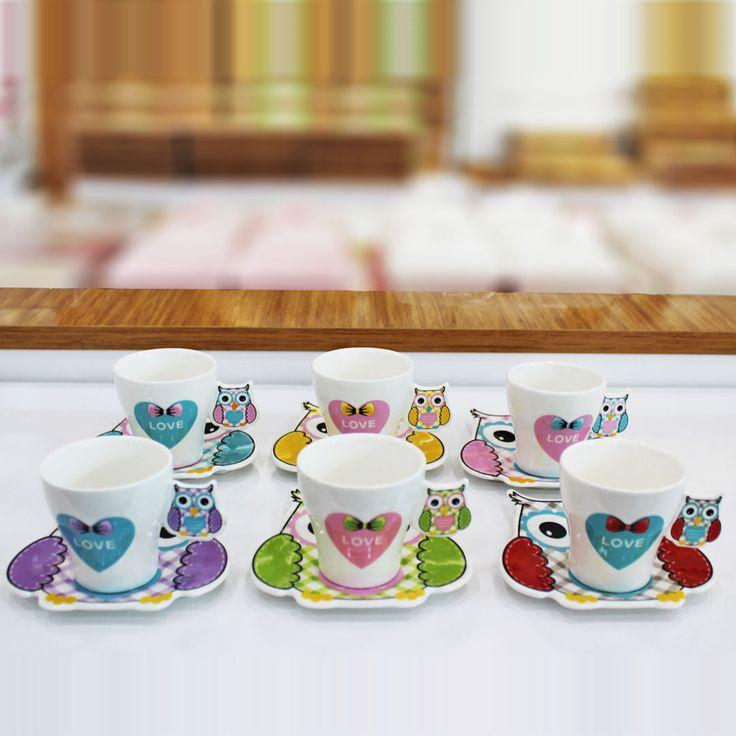 Renkli Baykuş Figürlü 6'lı Kahve Fincan Takımı 💳 12 Ay'a varan Taksit 🚛 Kapıda Ödeme 🚀 Hızlı Kargo 💯 Müşteri Memnuniyeti 📄 Faturalı Ürünler ✈️ Yurt İçi - Yurt Dışı Kargo #kahvetakımı #fincan #fincantakımı #renklifincantakımı #fincanseti #renklifincan #renklifincanlar #sadecenette #züccaciye #mutfak #kitchen #evdekorasyon #evdekorasyonu #evaksesuar #evaksesuarı #aksesuar #ev #çeyiz #home #hediye #hediyelik #tarif #evhanımı #lezzetlitarifler #hediyelikeşya #evhediyesi #evhediyeleri #çeyiz…