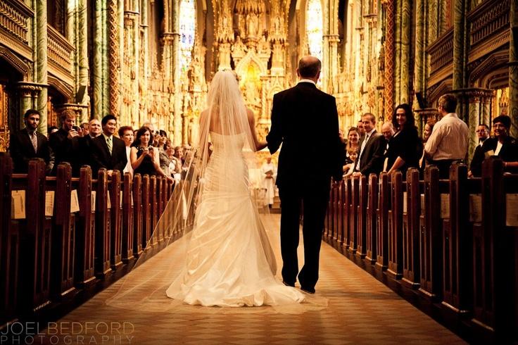 via www.joelbedfordweddings.ca    Ottawa Wedding, Notre Dame Cathedral Ottawa,  Ottawa Wedding Photography