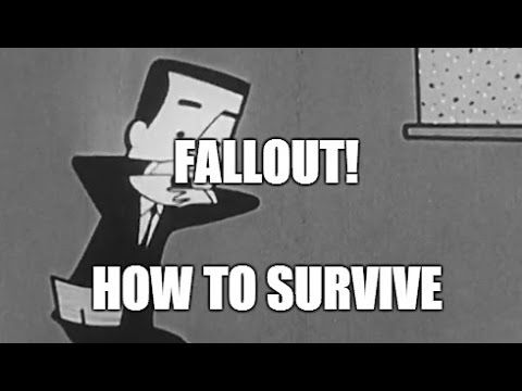 Fallout! How to Survive Nuclear RadiationFallout! How to Survive illustrates the cause and effects of radioactive nuclear fallout. Describes preparations which should be made to safeguard lives and protect food and water supplies.