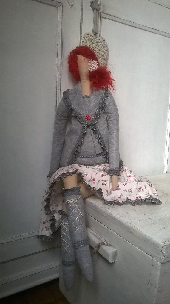 Tilda Tall Doll-Handmade-Tilda giant ♡ by LecreazionidiNadia on Etsy